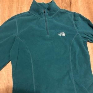The North Face - Turquoise Women's Fleece Pullover